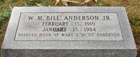 "ANDERSON, JR., WILLIAM M. ""BILL"" - Garland County, Arkansas 