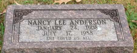 ANDERSON, NANCY LEE - Garland County, Arkansas | NANCY LEE ANDERSON - Arkansas Gravestone Photos
