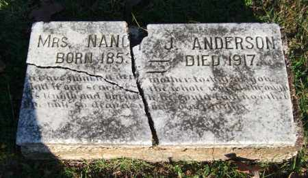 ANDERSON, NANCY J. - Garland County, Arkansas | NANCY J. ANDERSON - Arkansas Gravestone Photos
