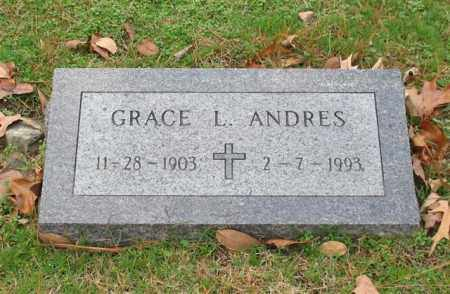 ANDRES, GRACE L. - Garland County, Arkansas | GRACE L. ANDRES - Arkansas Gravestone Photos