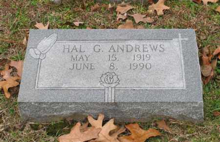ANDREWS, HAL G. - Garland County, Arkansas | HAL G. ANDREWS - Arkansas Gravestone Photos