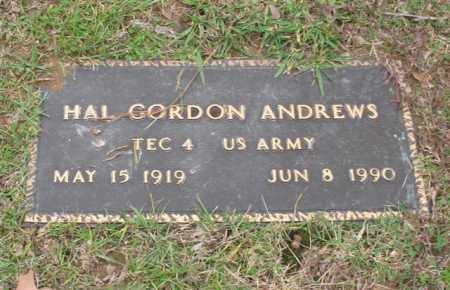 ANDREWS (VETERAN), HAL GORDON - Garland County, Arkansas | HAL GORDON ANDREWS (VETERAN) - Arkansas Gravestone Photos