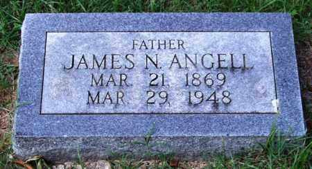 ANGELL, JAMES N. - Garland County, Arkansas | JAMES N. ANGELL - Arkansas Gravestone Photos
