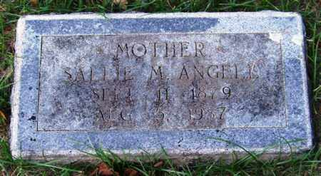 ANGELL, SALLIE M. - Garland County, Arkansas | SALLIE M. ANGELL - Arkansas Gravestone Photos