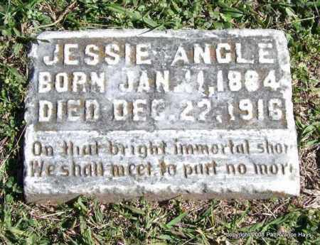 ANGLE, JESSIE - Garland County, Arkansas | JESSIE ANGLE - Arkansas Gravestone Photos