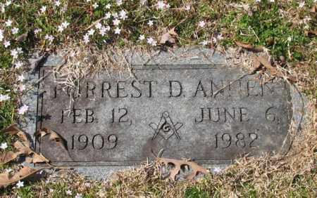 ANNEN, FORREST D. - Garland County, Arkansas | FORREST D. ANNEN - Arkansas Gravestone Photos