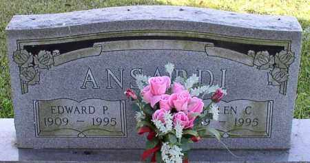 ANSARDI, EDWARD P. - Garland County, Arkansas | EDWARD P. ANSARDI - Arkansas Gravestone Photos