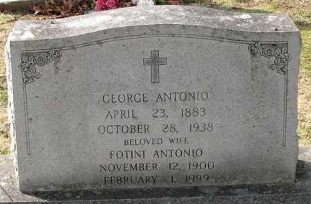 ANTONIO, FOTINI - Garland County, Arkansas | FOTINI ANTONIO - Arkansas Gravestone Photos