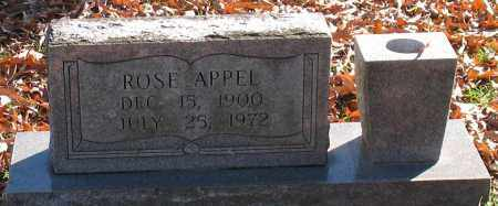 APPEL, ROSE - Garland County, Arkansas | ROSE APPEL - Arkansas Gravestone Photos