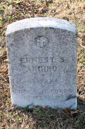 ARGIRO (VETERAN), ERNEST S - Garland County, Arkansas | ERNEST S ARGIRO (VETERAN) - Arkansas Gravestone Photos