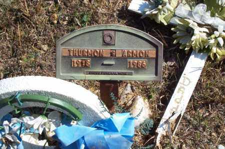 ARMON, THURMON - Garland County, Arkansas | THURMON ARMON - Arkansas Gravestone Photos