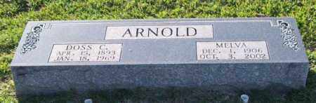 ARNOLD, DOSS C. - Garland County, Arkansas | DOSS C. ARNOLD - Arkansas Gravestone Photos
