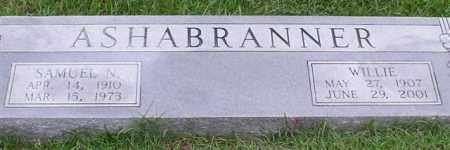 ASHABRANNER, WILLIE - Garland County, Arkansas | WILLIE ASHABRANNER - Arkansas Gravestone Photos