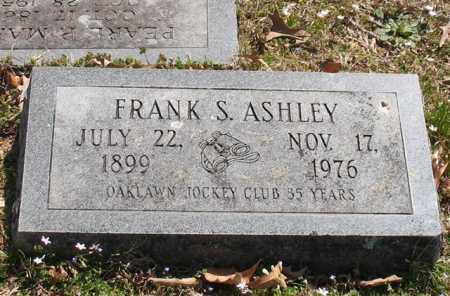ASHLEY, FRANK S. - Garland County, Arkansas | FRANK S. ASHLEY - Arkansas Gravestone Photos