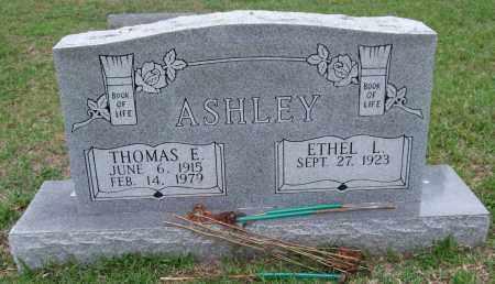 ASHLEY, THOMAS E. - Garland County, Arkansas | THOMAS E. ASHLEY - Arkansas Gravestone Photos