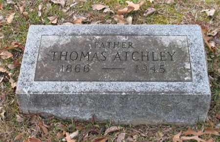 ATCHLEY, THOMAS - Garland County, Arkansas | THOMAS ATCHLEY - Arkansas Gravestone Photos