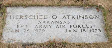 ATKINSON (VETERAN), HERSCHEL O - Garland County, Arkansas | HERSCHEL O ATKINSON (VETERAN) - Arkansas Gravestone Photos