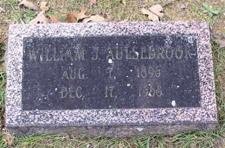 AULSEBROOK, WILLIAM J. - Garland County, Arkansas | WILLIAM J. AULSEBROOK - Arkansas Gravestone Photos
