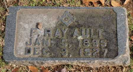AULT, F. RAY - Garland County, Arkansas | F. RAY AULT - Arkansas Gravestone Photos