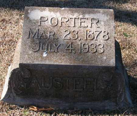 AUSTEEL, PORTER - Garland County, Arkansas | PORTER AUSTEEL - Arkansas Gravestone Photos