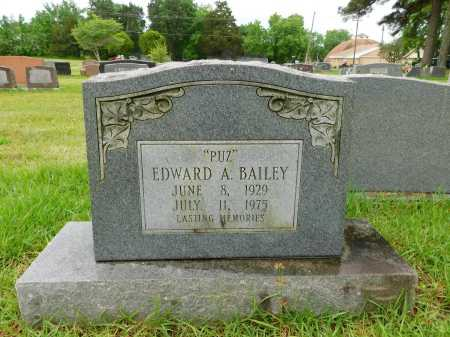 BAILEY, EDWARD A. - Garland County, Arkansas | EDWARD A. BAILEY - Arkansas Gravestone Photos