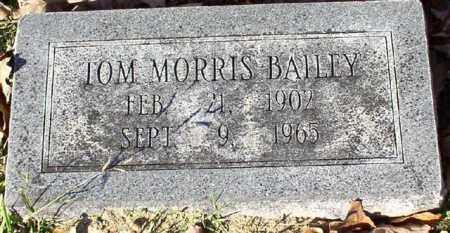 BAILEY, TOM MORRIS - Garland County, Arkansas | TOM MORRIS BAILEY - Arkansas Gravestone Photos