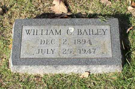 BAILEY, WILLIAM C. - Garland County, Arkansas | WILLIAM C. BAILEY - Arkansas Gravestone Photos