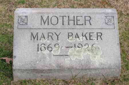 BAKER, MARY - Garland County, Arkansas | MARY BAKER - Arkansas Gravestone Photos