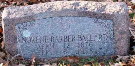 BALLARD, NORENE - Garland County, Arkansas | NORENE BALLARD - Arkansas Gravestone Photos