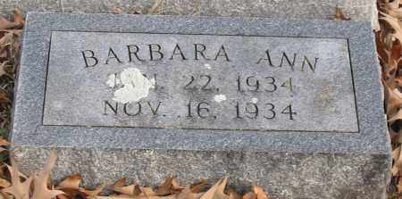BANDY, BARBARA ANN - Garland County, Arkansas | BARBARA ANN BANDY - Arkansas Gravestone Photos