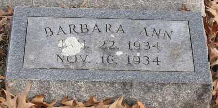 BANDY, BARBARA ANN - Garland County, Arkansas | BARBARA ANN BANDY - Arkansas Gravestone Photos