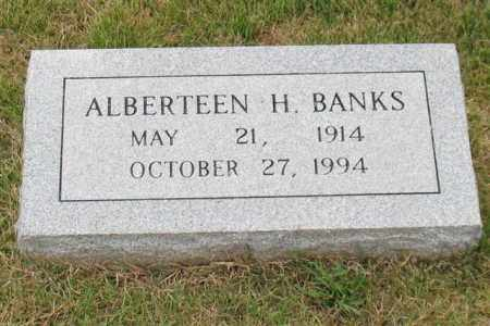 BANKS, ALBERTEEN H. - Garland County, Arkansas | ALBERTEEN H. BANKS - Arkansas Gravestone Photos