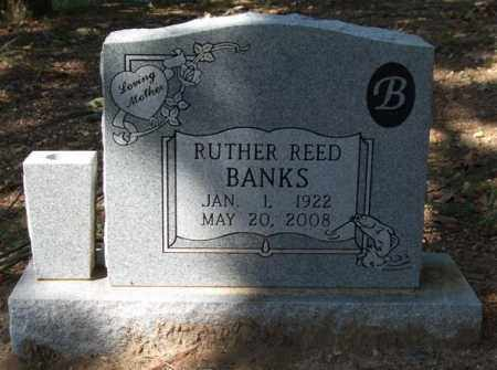 REED BANKS, RUTHER - Garland County, Arkansas | RUTHER REED BANKS - Arkansas Gravestone Photos