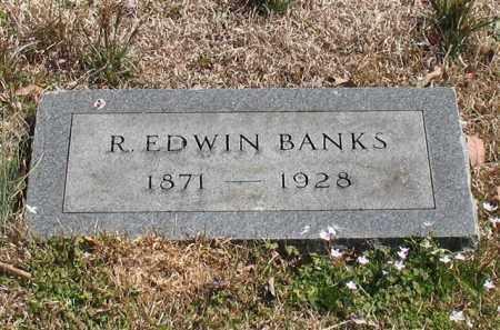 BANKS, R. EDWIN - Garland County, Arkansas | R. EDWIN BANKS - Arkansas Gravestone Photos
