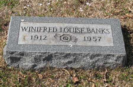 BANKS, WINIFRED LOUISE - Garland County, Arkansas | WINIFRED LOUISE BANKS - Arkansas Gravestone Photos