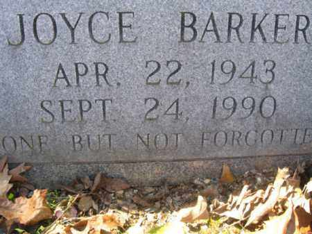 BARKER, JOYCE - Garland County, Arkansas | JOYCE BARKER - Arkansas Gravestone Photos