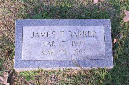 BARKER, JAMES T. - Garland County, Arkansas | JAMES T. BARKER - Arkansas Gravestone Photos