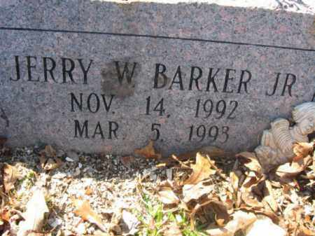 BARKER, JR., JERRY W. - Garland County, Arkansas | JERRY W. BARKER, JR. - Arkansas Gravestone Photos