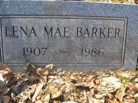 BARKER, LENA MAE - Garland County, Arkansas | LENA MAE BARKER - Arkansas Gravestone Photos