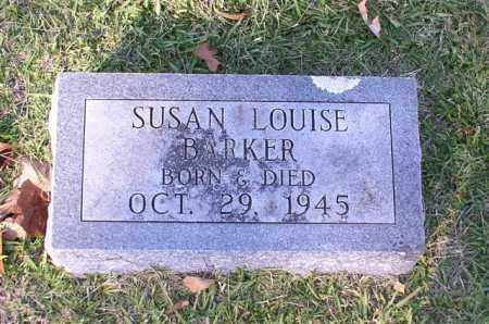BARKER, SUSAN LOUISE - Garland County, Arkansas | SUSAN LOUISE BARKER - Arkansas Gravestone Photos
