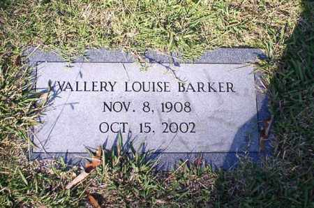 BARKER, VALLERY LOUISE - Garland County, Arkansas | VALLERY LOUISE BARKER - Arkansas Gravestone Photos