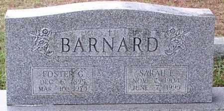 BARNARD, FOSTER G. - Garland County, Arkansas | FOSTER G. BARNARD - Arkansas Gravestone Photos