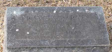 BARNES, FRANCES - Garland County, Arkansas | FRANCES BARNES - Arkansas Gravestone Photos