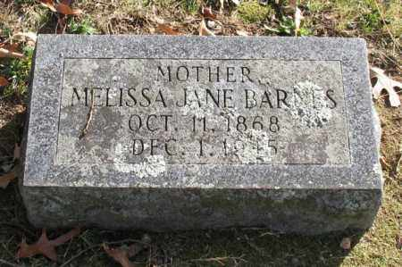 BARNES, MELISSA JANE - Garland County, Arkansas | MELISSA JANE BARNES - Arkansas Gravestone Photos