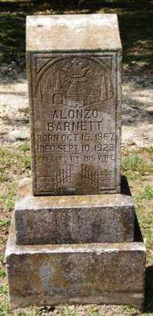 BARNETT, ALONZO - Garland County, Arkansas | ALONZO BARNETT - Arkansas Gravestone Photos