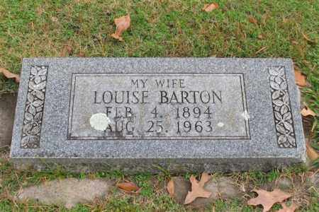 BARTON, LOUISE - Garland County, Arkansas | LOUISE BARTON - Arkansas Gravestone Photos
