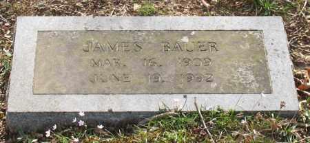 BAUER, JAMES - Garland County, Arkansas | JAMES BAUER - Arkansas Gravestone Photos