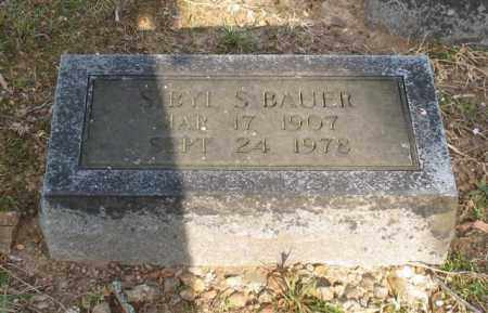 BAUER, SIBYL S. - Garland County, Arkansas | SIBYL S. BAUER - Arkansas Gravestone Photos