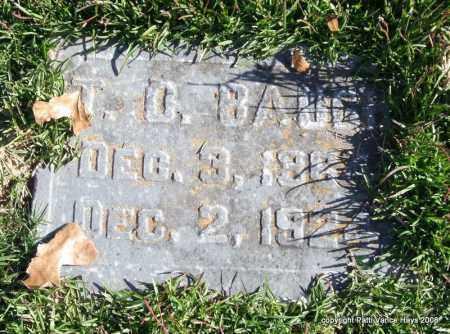 BAUGH, T. O. - Garland County, Arkansas | T. O. BAUGH - Arkansas Gravestone Photos