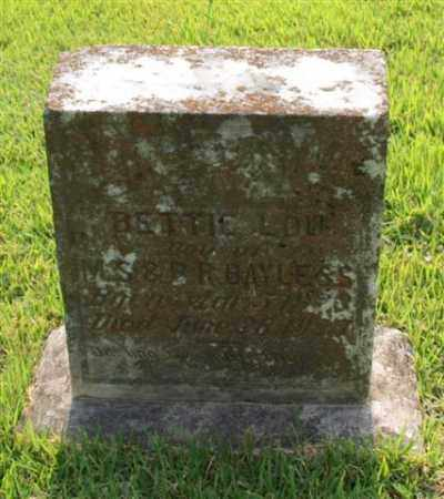 BAYLESS, BETTIE LOU - Garland County, Arkansas | BETTIE LOU BAYLESS - Arkansas Gravestone Photos